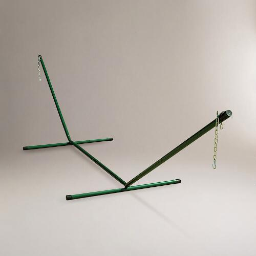 Hunter Green Single Hammock Stand