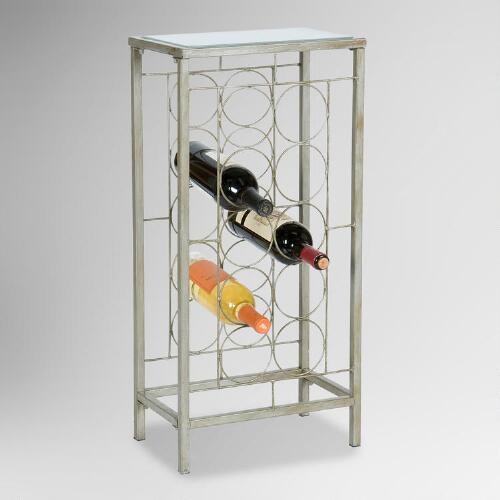 Lowell 10-Bottle Wine Rack
