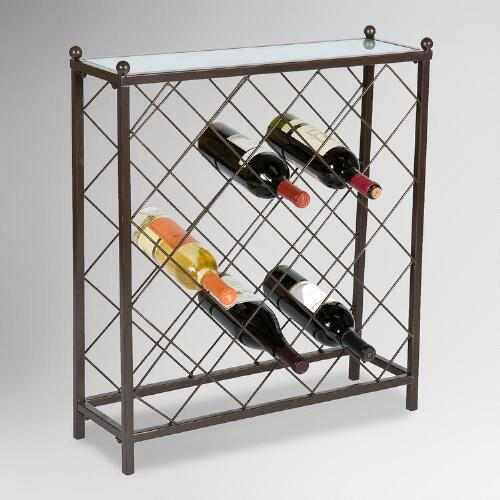 Kenley 25-Bottle Wine Rack