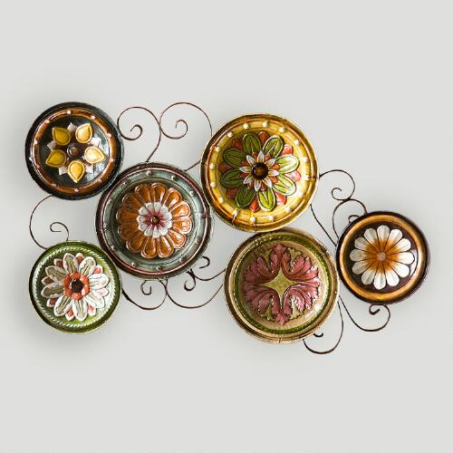 Delfina Italian Scattered Plates Wall Art