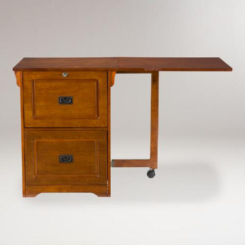 Trenton Folding File Desk