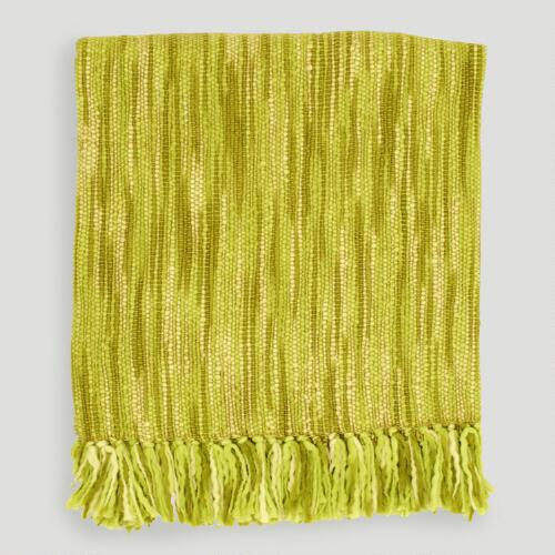 Citrus/Ivory Taryn Throw