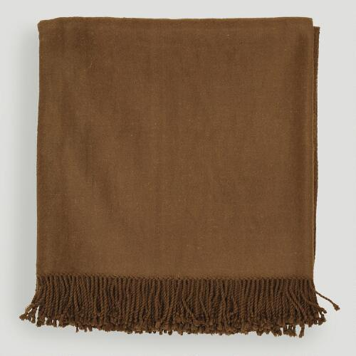 Tatum Throw, Brown