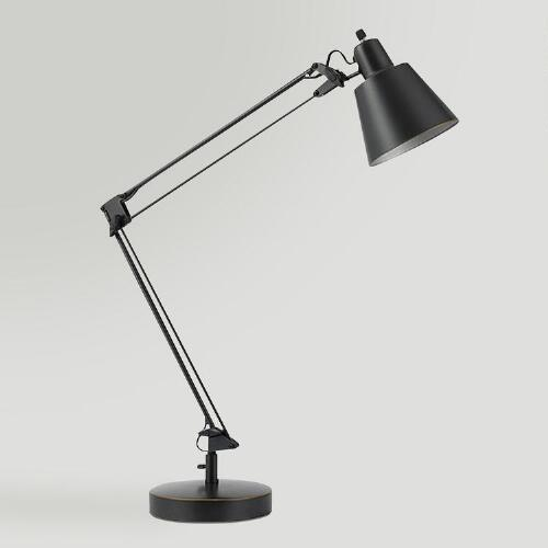 Dark Bronze Larsen Metal Task Lamp