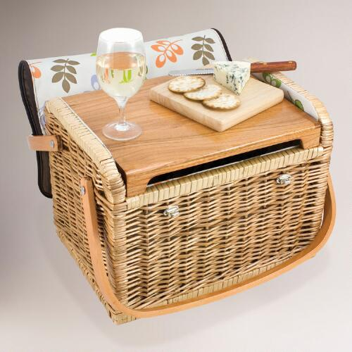 Capitola Wine & Cheese Basket