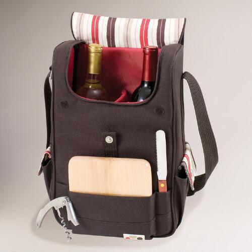 Dixon Insulated Wine & Cheese Tote