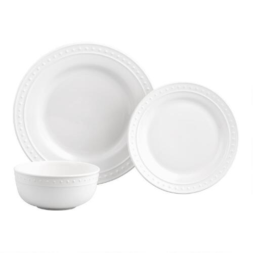 White Nantucket Dinnerware