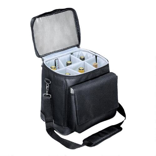 Insulated 6-Bottle Wine Cooler