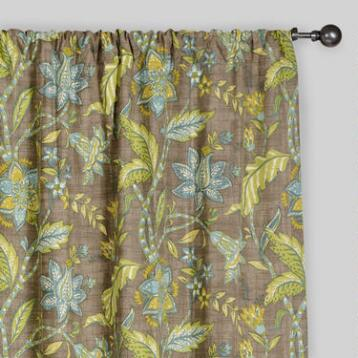 Floral Tamara Curtains, Set of 2
