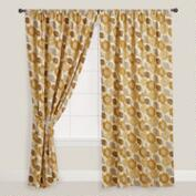 Floral Emma Cotton Curtain