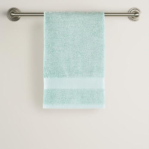 Surf Spray Cotton Hand Towel