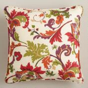 Campione Multicolor Throw Pillow