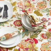 Floral Kavita Table Linen Collection