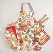 Floral Kavita Kitchen Linen Collection