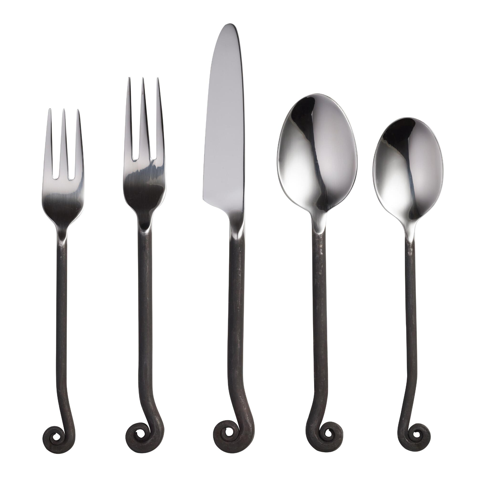 Treble clef flatware world market - Treble clef silverware ...