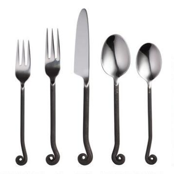 Treble Clef Flatware