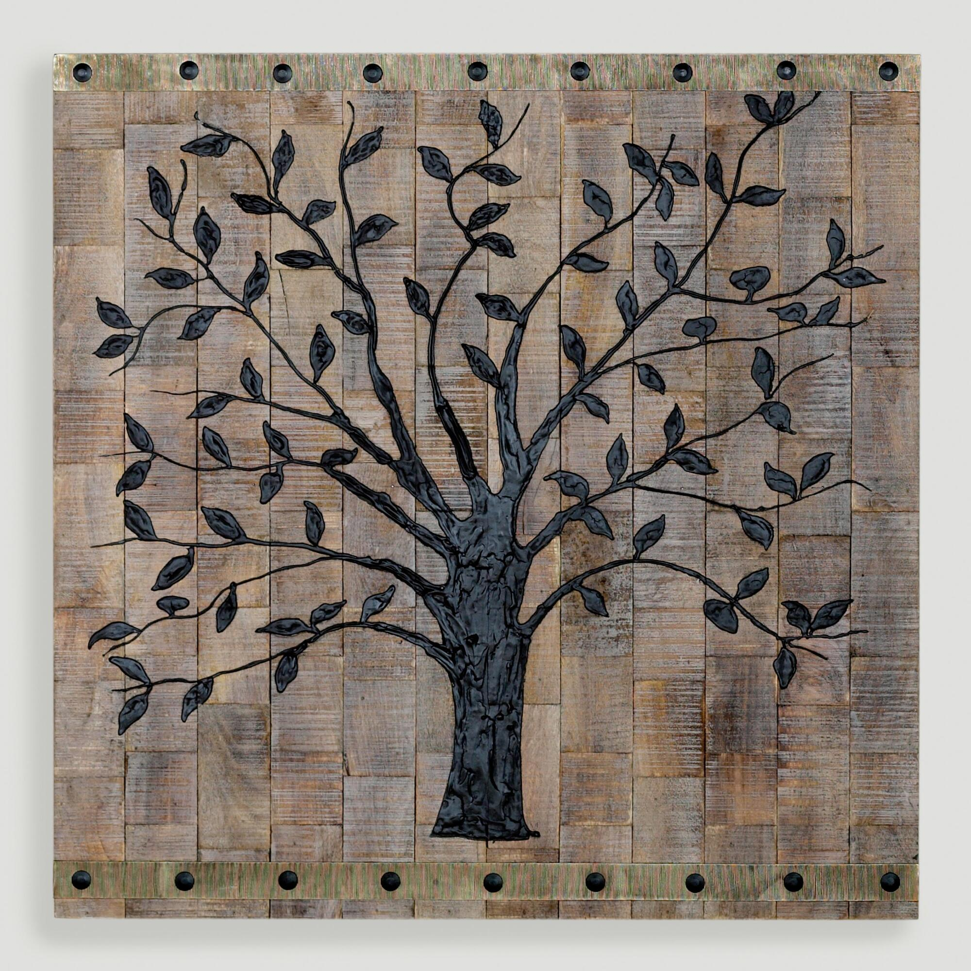 Rustic Tree Wall Decor : Tree of life wall decor world market