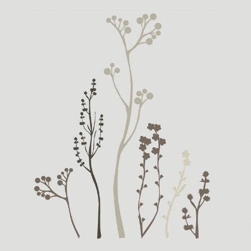 Winter Garden Vinyl Wall Decal