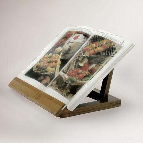 Bamboo Cookbook Holder