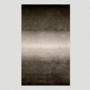 Ombre Stripes Rug, Gray