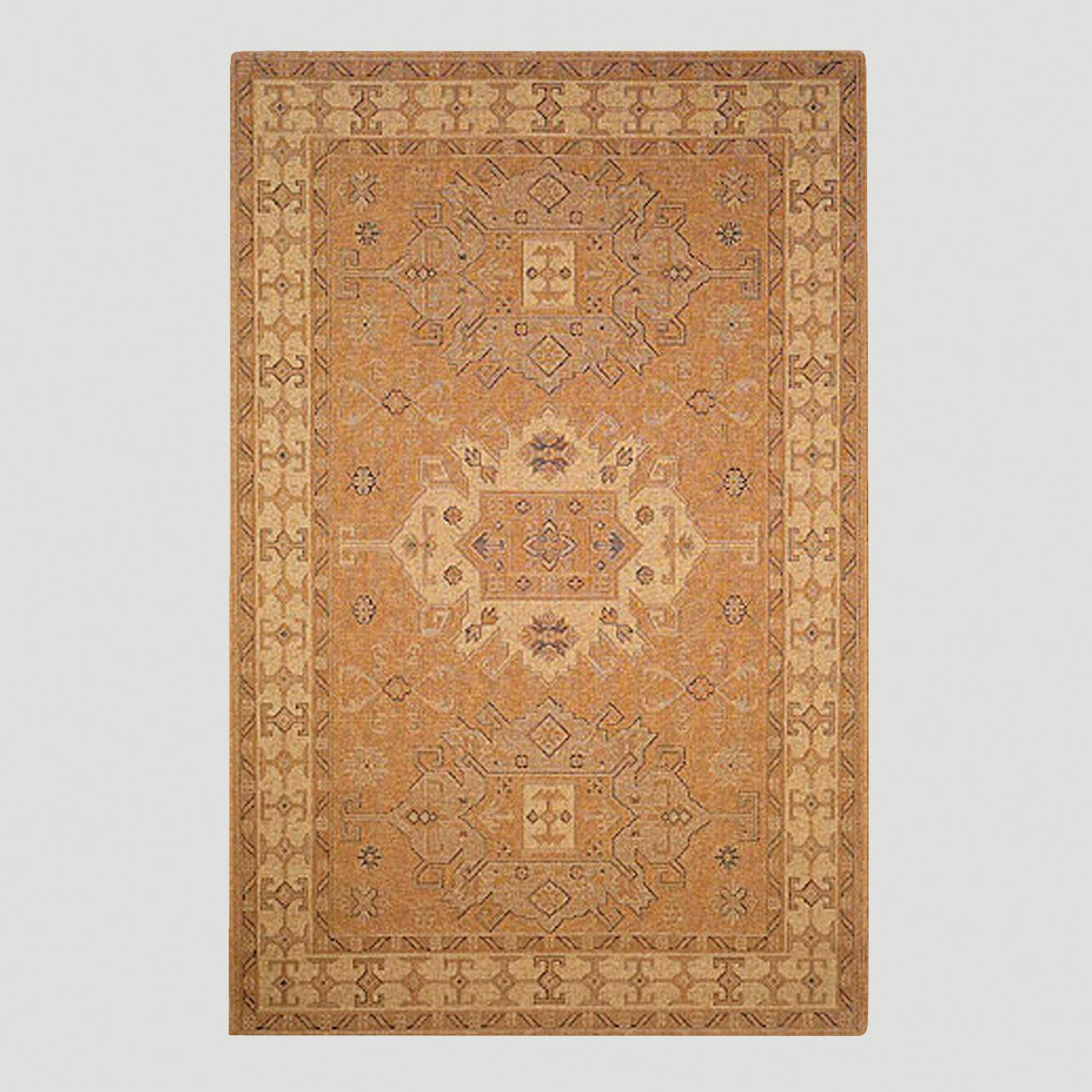 Ivory Kelim Indoor-Outdoor Rug | World Market - photo#8