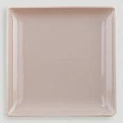 Taupe Coupe Square Salad Plate, Set of 2