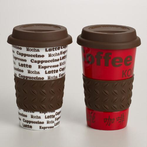 Coffee Non-Paper Cup, Set of 2