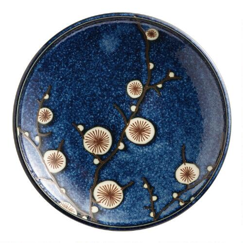 Cherry Blossom Salad Plates, Set of 6
