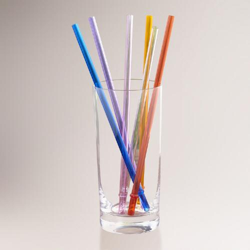 Double-Wall Tumbler Straws, Sets of 2