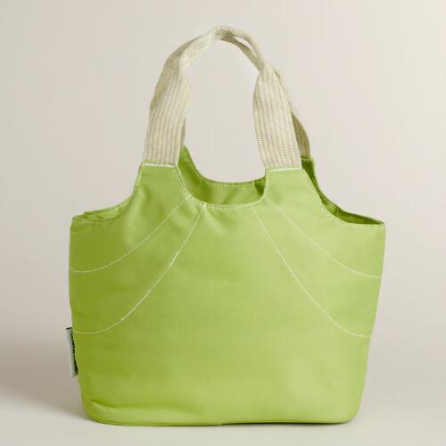 Anne Insulated Lunch Bag, Green