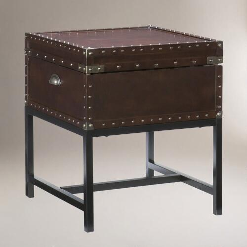 Duncan Storage End Table