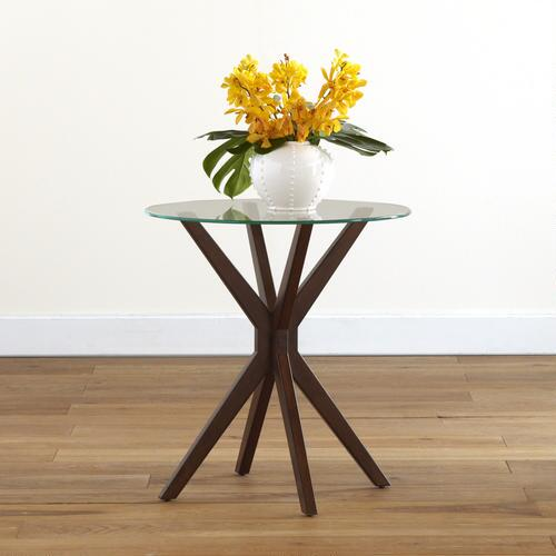 Winsor Glass Top Accent Table