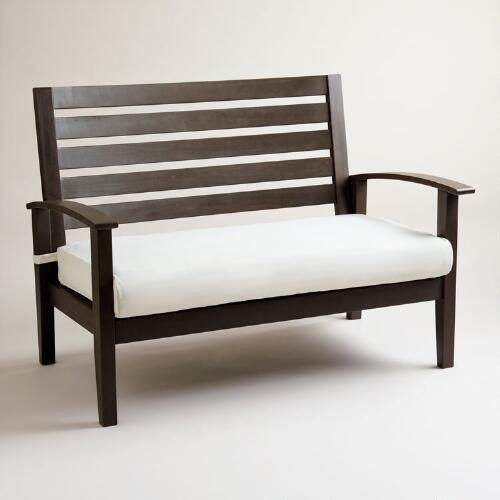 Laguna Occasional Bench with Cushion