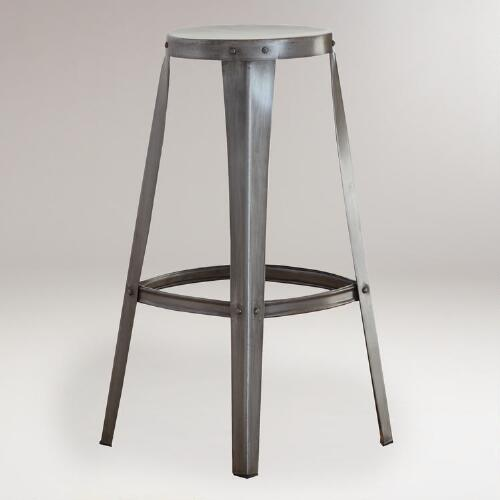 Cargo Barstools, Set of 2