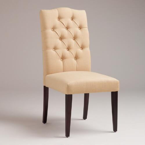 Sand Tufted Chairs, Set of 2