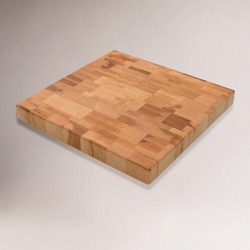 Maple Square Butcher Block