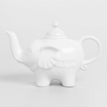 White Ceramic Teapots