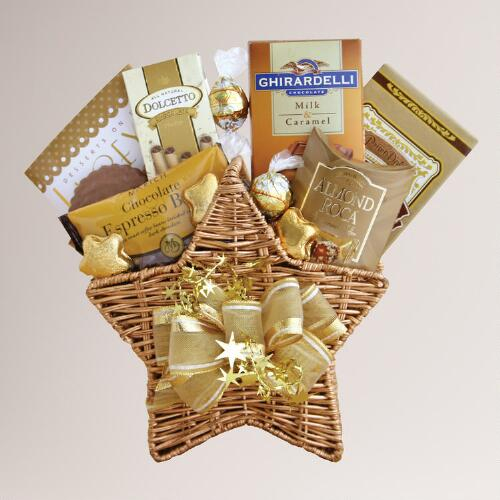 Holiday Star Bright Gift Basket