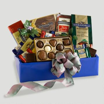 Ghirardelli Party Gift Basket