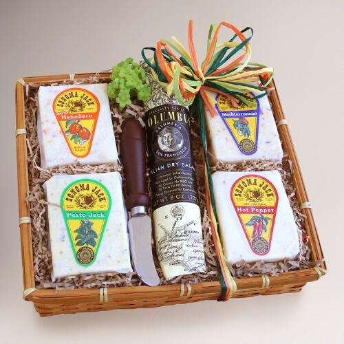 Sonoma Jack Cheese Gift Basket Sampler