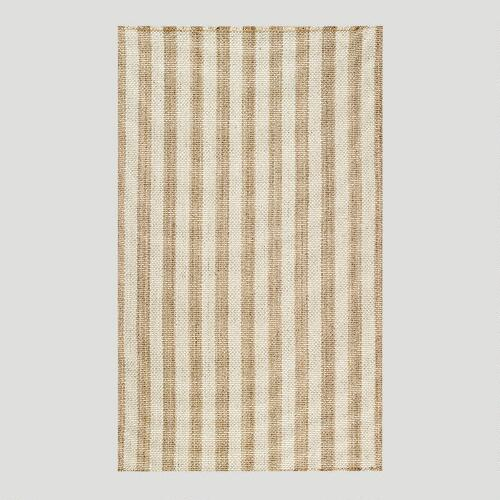 Cobblestone Rug, Dune Shingle Stripe