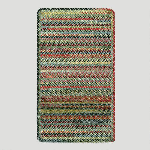 Parakeet Striped Plymouth Braided Rug