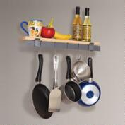 Enclume Wall Bar and Bamboo Shelf