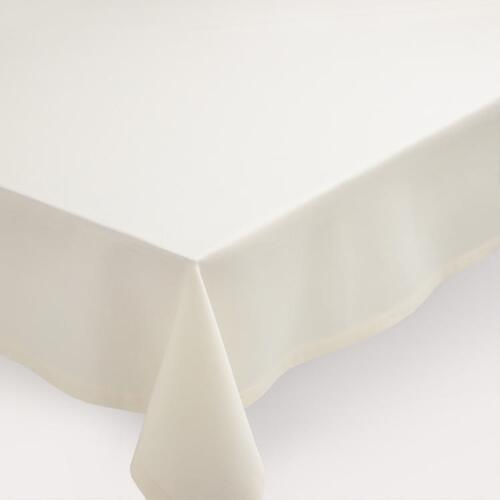 Ivory Hotel Linen Tablecloth
