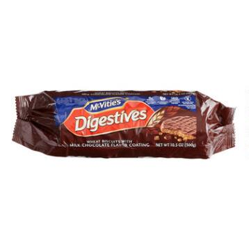 McVitie's Milk Chocolate Digestives Cookies, Set of 5