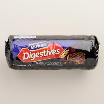 McVitie's Dark Chocolate Digestives Cookies,Set of 6