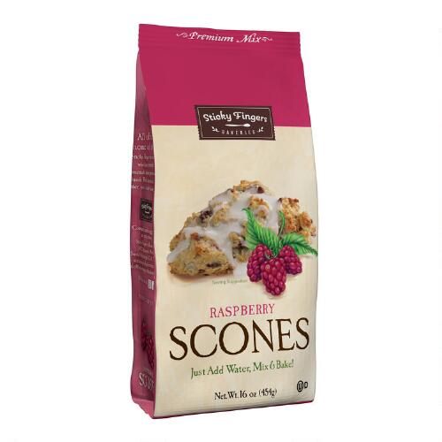Sticky Fingers Bakeries Scones Mix, Raspberry