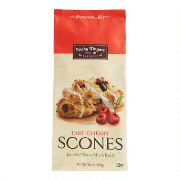 Sticky Fingers Bakeries Tart Cherry Scone Mix, Set of 6