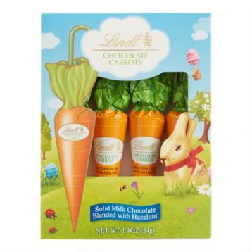 Lindt Chocolate Carrots, Set of 6