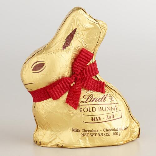 Lindt Milk Chocolate Gold Bunny